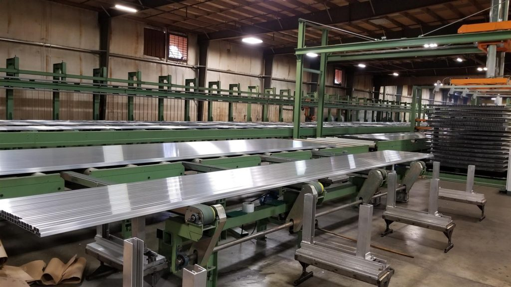 Postle Aluminum Packing Table