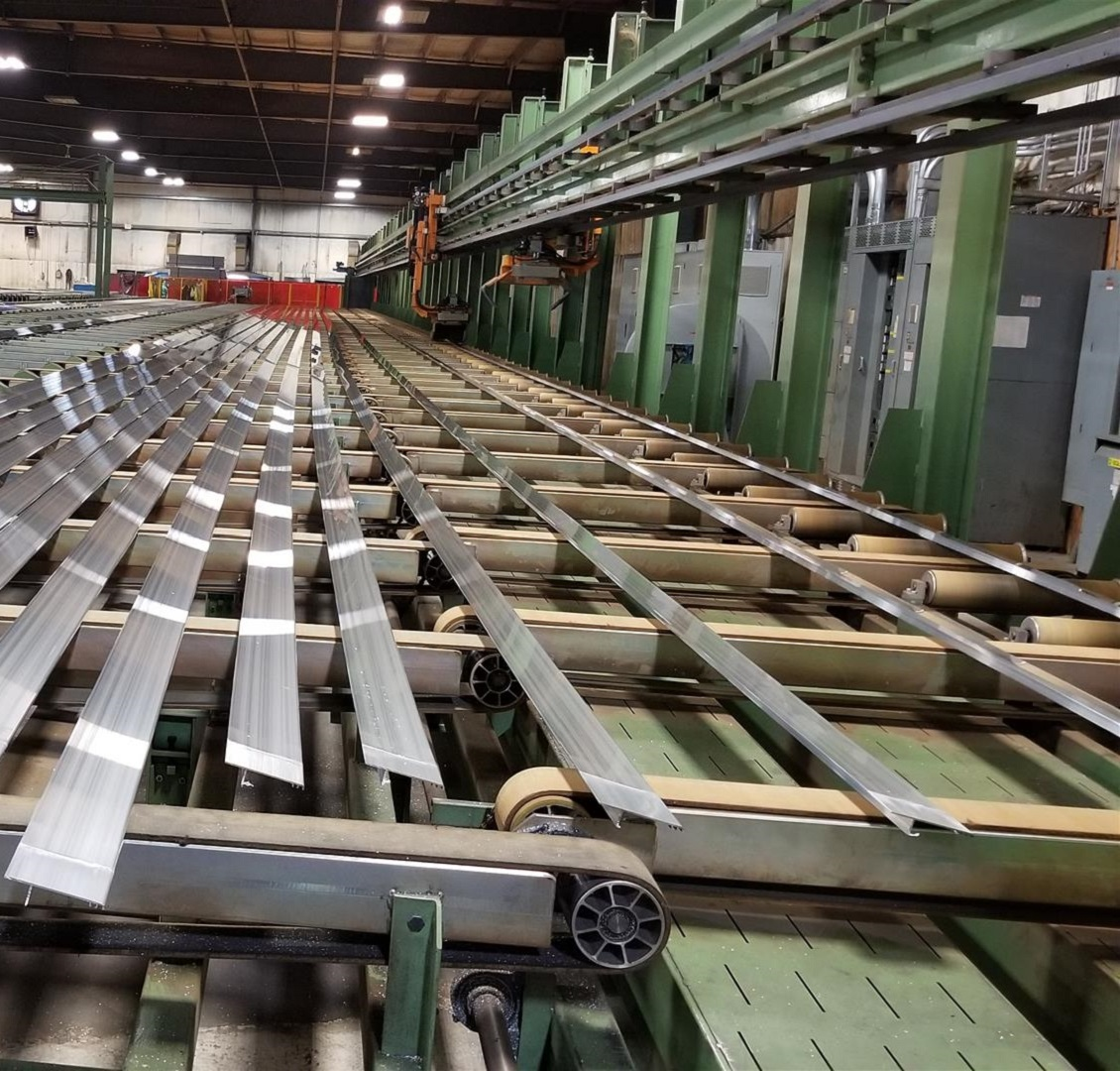 Postle Extrusion Runout Table