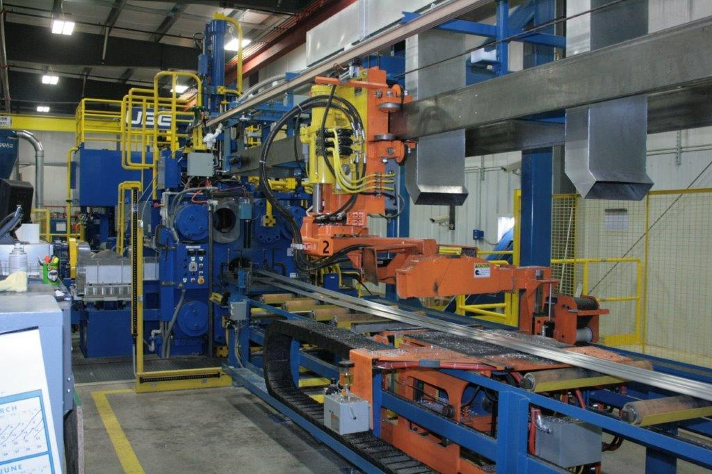 Aluminum Extrusion Press 5